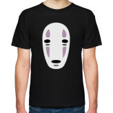 Аниме футболка с Безликим